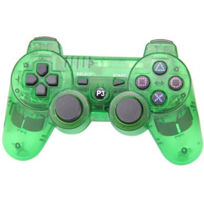 PS3 Bluetooth Joypad Crystal Green PP Bag
