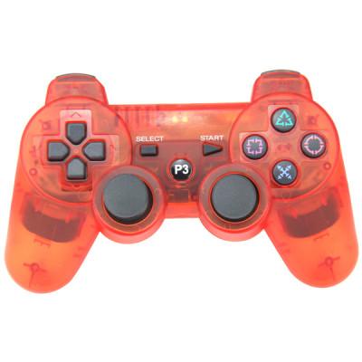 PS3 Bluetooth Joypad Crystal Red PP Bag
