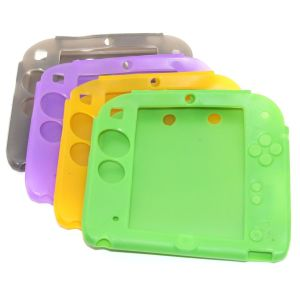 Nintendo 2DS Console Protective Silicone Soft Case (Assorted Color)