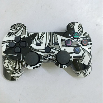 PS3 Bluetooth Controller (Gray Graffiti) Without Packing