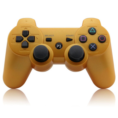 Bluetooth Controller for PS3 (gold)