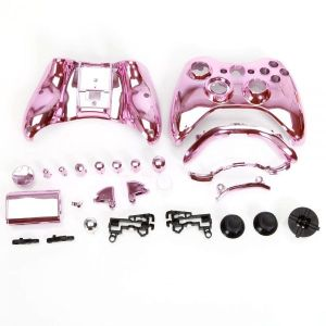 Xbox 360 Fat Controller Protective Housing Shell Case (Chrome Pink)