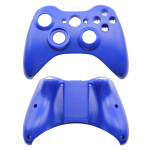 Xbox 360 Fat Wireless Controller Full Shell Cover Case (Blue)