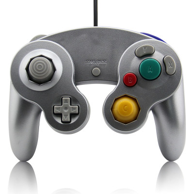 Wired Game Controller for NGC (Silver)