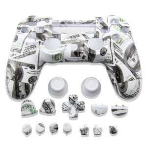 PS4 Wireless Controller Hydro Dipped Housing Shell Case