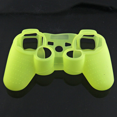 PS3 Controller Silicone Case  Light Yellow