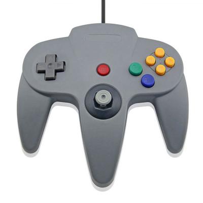 N64 Controller Joystick Gamepad (Gray)