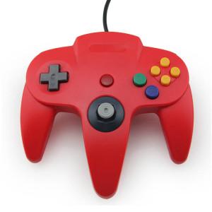 N64 Controller Joystick Gamepad (Red)