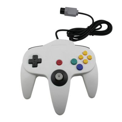 N64 Controller Joystick Gamepad (White)