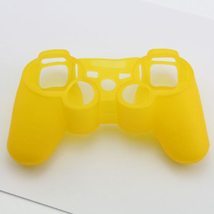 PS3 Controller Silicone Case  Yellow