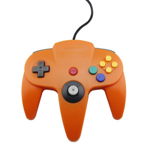 N64 Controller Joystick Gamepad (Orange)