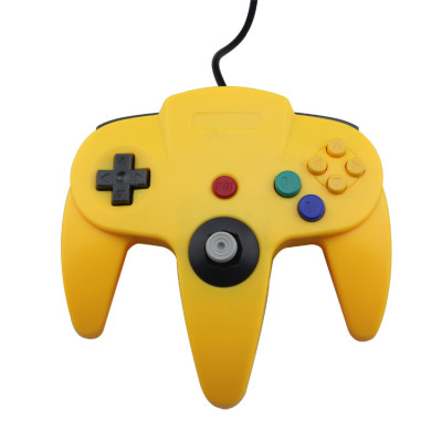N64 Controller Joystick Gamepad (Yellow)