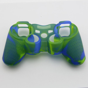PS3 Controller Silicone Case Blue+Green