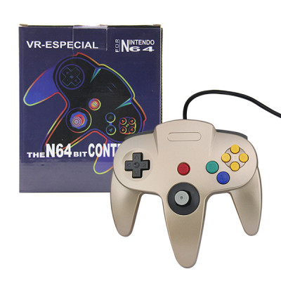N64 Controller Joystick Gamepad (Gold)