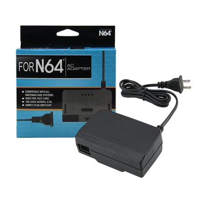 N64 AC Adapter Power Supply Cable (US Plug)