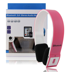 Bluetooth Stereo Headset Pink