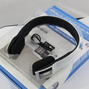 Bluetooth Stereo Headset White