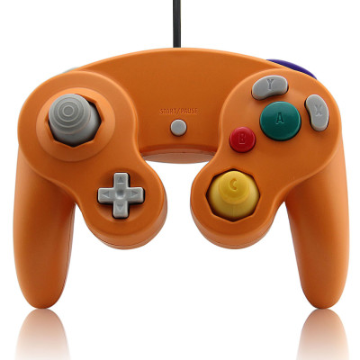 Wired Game Controller for NGC(Orange)