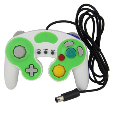 NGC Wired Controller White with Green Color