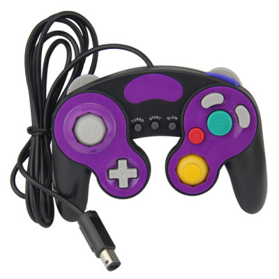 NGC Wired Controller Balck and Violet Color PP Bag