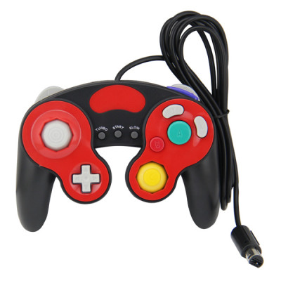 NGC Wired Controller Black and Red  Color PP Bag