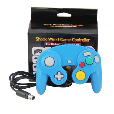 Wired Game Controller for NGC(Blue)