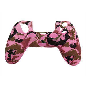 PS4 Controller Silicone Skin Case Pink