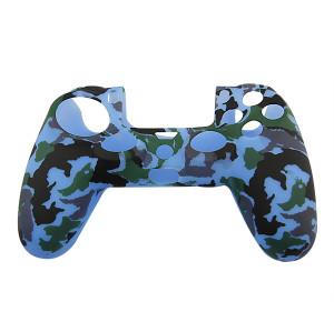 PS4 Controller Silicone Skin Case Blue