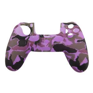 PS4 Controller Silicone Skin Case Purple