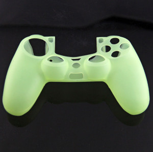 PS4 Controller Silicone Skin Case Light Green