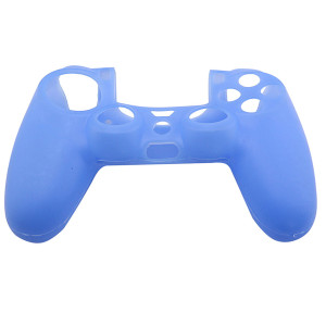 PS4 Controller Silicone Skin Case Light Blue