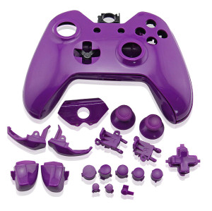 Xbox One Replacement Controller Case Shell (Purple)