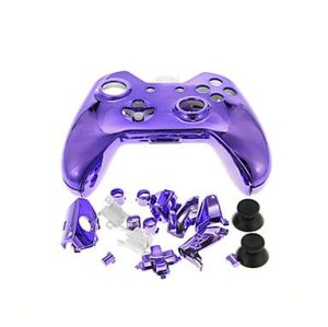Xbox One Controller Electroplate Housing Full Shell Case (Purple)