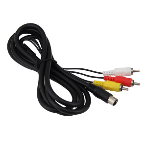 Sega Saturn AV Cable 1.8M