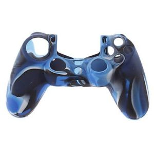 PS4 Controller Silicone Skin Case (Navy Blue)