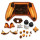 Xbox One Controller Electroplate Housing Full Shell Case (Orange)
