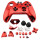 Xbox One Controller Electroplate Housing Full Shell Case (Red)