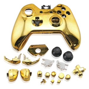 Xbox One Controller Electroplate Housing Full Shell Case (Gold)