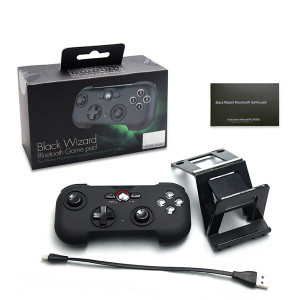Black Wizard Bluetooth Gamepad