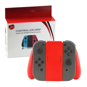 Nintendo Switch Joy-con Handle Grip Controller Gamapd (Red Color)