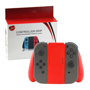 Nintendo Switch Joy-con Handle Grip Controller Gamapd (Red Color)