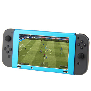 Nintendo Switch Console Protective Shell Cover Aluminum Case (Blue Color)