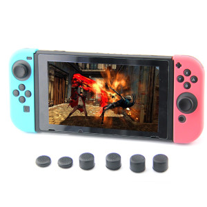 Nintendo Switch Joy-Con Controller 8pcs Increased Silicone Caps Thumb Grips Cover