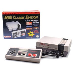 Nintendo Mini NES Classic Edition Entertainment Game System OEM US Version