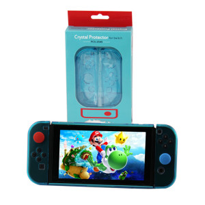 Nintendo Switch Transparent Crystal Protective Cover New Model Crystal Blue