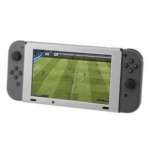 Nintendo Switch Console Protective Shell Cover Aluminum Case (Gray Color)