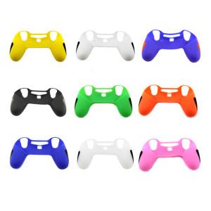 PS4 Controller Silicone Case with 2pcs Joystick cap 9 colors