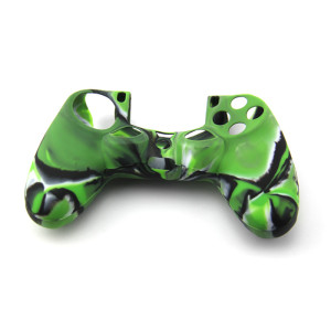 PS4 Controller Silicone Case -camouflage Green