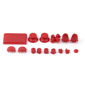 Button Kits for PS4 Controller 4.0 Version(Red)
