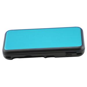 New 2DS XL Console Aluminum Case-Light blue